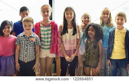 Diversity Diverse Ethnicity Ethnic Kids Offspring Concept