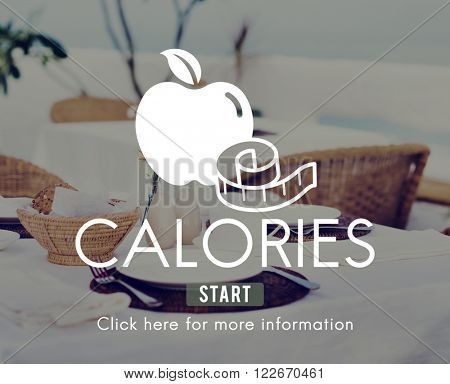 Calories Diet Energy Food Beverage Nutrition Concept