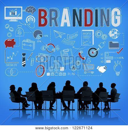 Branding Marketing Business Trademark Value Concept
