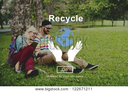 Recycle Reuse Environmentally Friendly Ecology Concept