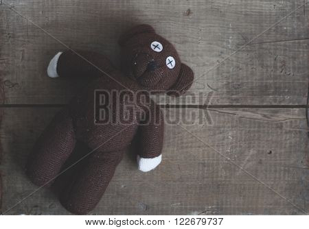 Old Toy Bear