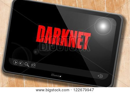 Darknet internet background with some soft smooth lines
