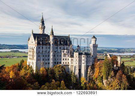 The Castle in Jungle Schloss Neuschwanstein - Fussen Germany