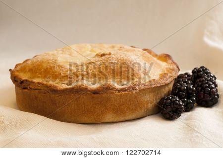 Shortcrust Pie With Blackberries