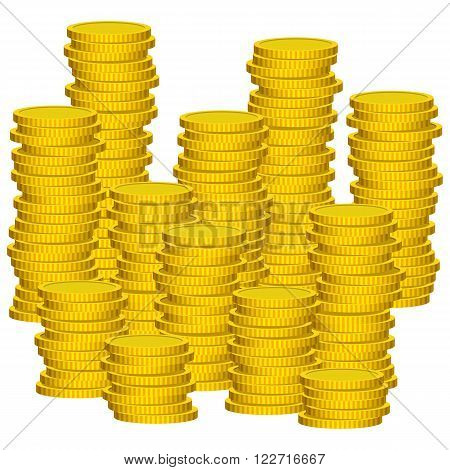 Illustration Graphic Vector Coins