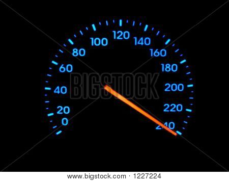 Speedometer At Maximum