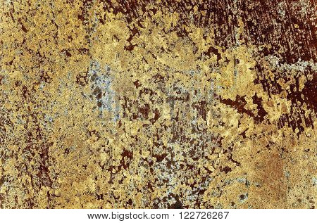 Brown grungy wall Sandstone surface background.