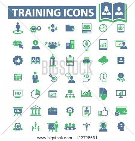 training icons