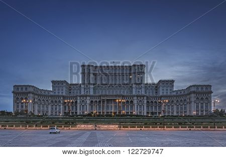 Palace Of The Parliament, Bucharest, Romania