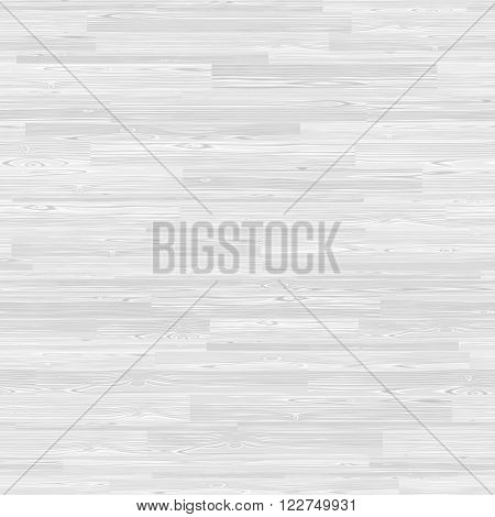 White parquet seamless wooden floor stripe mosaic tile. Editable vector pattern in swatches.
