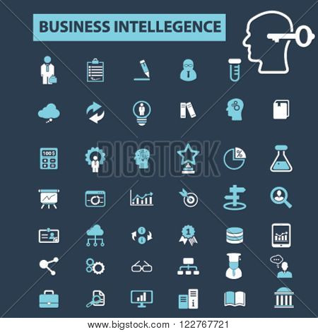 business intellegence icons