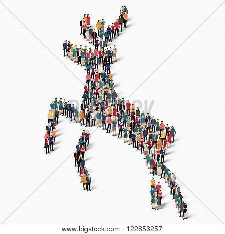 deer icon  , deer  icon illustration , people icon illustration ,  deer icon art , deer art ,  deer web icon , deer web icon