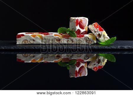 Soft Nougat With Tropical Fruit