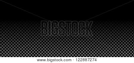 Black Background with black and white grid
