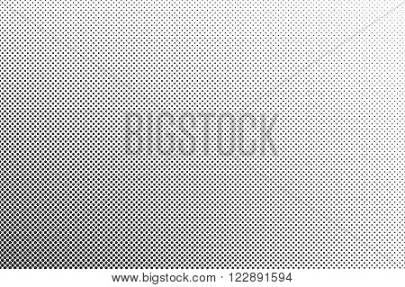 Small Dots Halftone Vector Background. Overlay Texture.