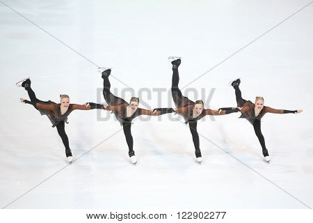 Team Finland Two Pirouette