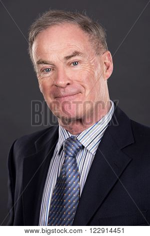 Mature Man In Suit