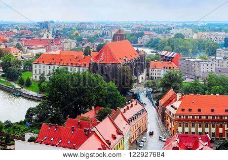 Wroclaw Street, Poland