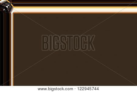 unique brown design with white  background image