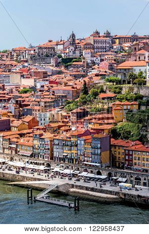 Old town of Porto and river Douro, Portugal