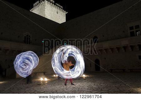 Fire Dance In Diosgyor