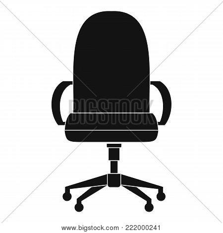 Comfortable armchair icon. Simple illustration of comfortable armchair vector icon for web.