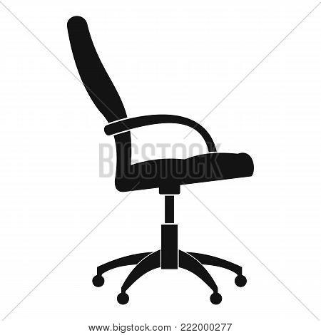 Wheelchair icon. Simple illustration ofwheelchair vector icon for web.