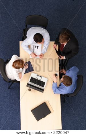 Group Brainstorming - Business People At Work