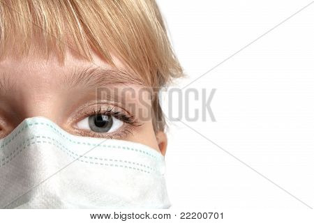 The Girl In Medical Mask