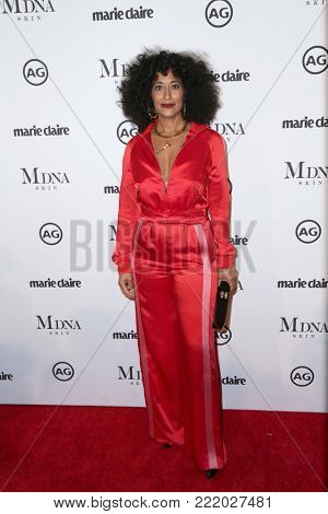 LOS ANGELES - JAN 11:  Tracee Ellis Ross at the Marie Claire Image Makers Awards 2018 at the Delilah on January 11, 2018 in West Hollywood, CA