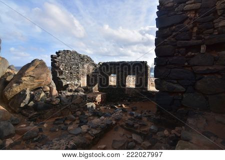 Gold Smelter and Mine ruins in Aruba