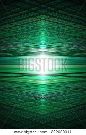 A green grid background with centre highlight