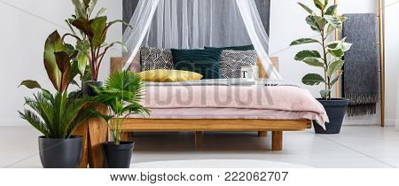 Floral Bedroom Interior