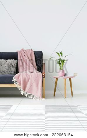 Wood In Living Room Interior