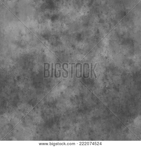 Gray Unfinished Concrete  - Seamless  Plaster Texture