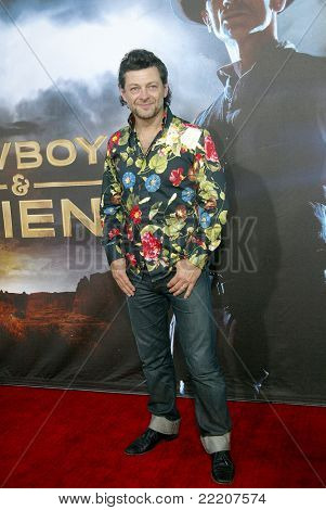 SAN DIEGO, CA - JULY 23: Andy Serkis arrives at the world premiere of