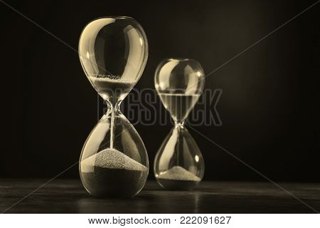 Sandglass, Hourglass With Sand