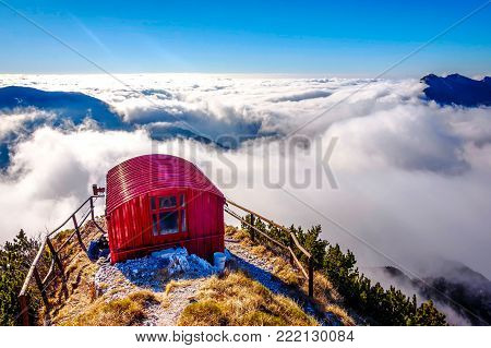 Bivacco Dino And The Sea Of Clouds, Italy