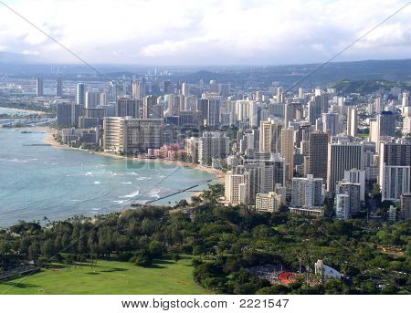 Waikiki, Oahu City, Hawaii