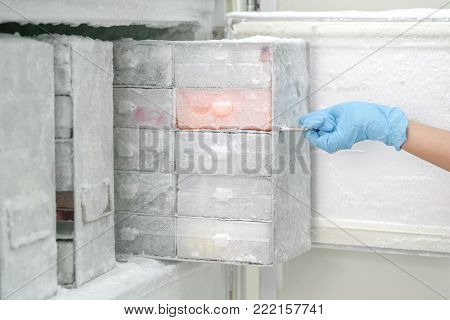 Laboratory freezer for keep isolated pathogen in ultra low temperature.