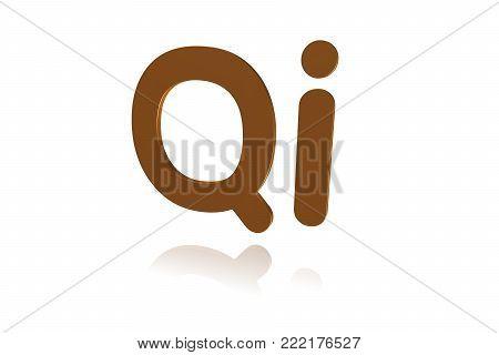 Programming Term - Qi -  Programming Language -  3d Image