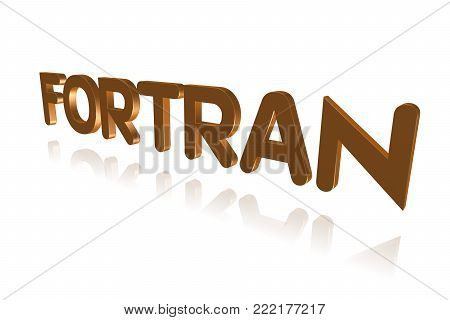 Programming Term - Fortran - Formula Translator  - 3d Image