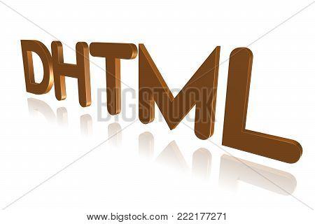 Programming Term - Dhtml - Dynamic Html - 3d Image