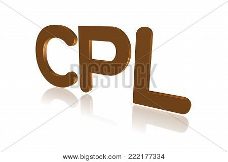 Programming Term - Cpl -  Combined Programming Language - 3d Image