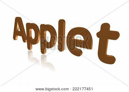Programming Term - Applet - Small Supplemental Program - 3d Image