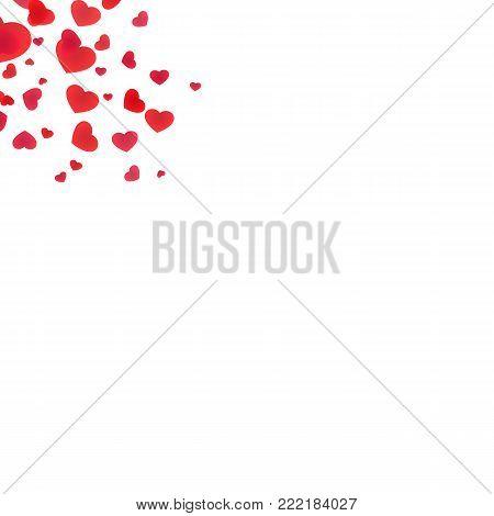 Festive love sign edging elements design illustration