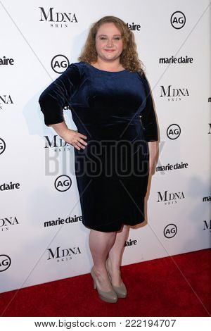 LOS ANGELES - JAN 11:  Danielle Macdonald at the Marie Claire Image Makers Awards 2018 at the Delilah on January 11, 2018 in West Hollywood, CA