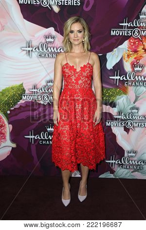 LOS ANGELES - JAN 13:  Cindy Busby at the Hallmark Channel and Hallmark Movies and Mysteries Winter 2018 TCA Event at the Tournament House on January 13, 2018 in Pasadena, CA