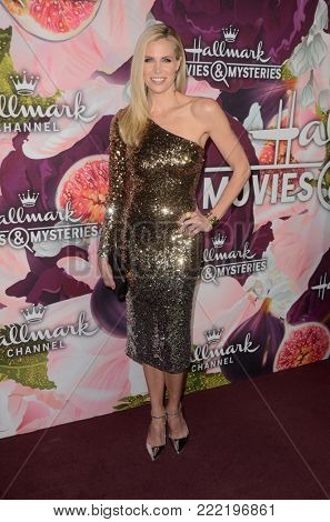LOS ANGELES - JAN 13:  Brooke Burns at the Hallmark Channel and Hallmark Movies and Mysteries Winter 2018 TCA Event at the Tournament House on January 13, 2018 in Pasadena, CA