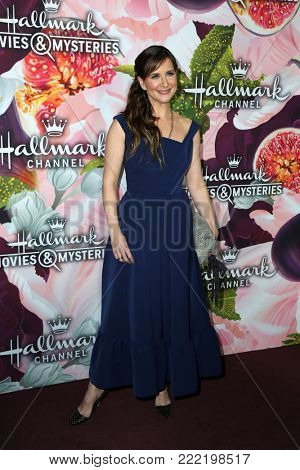 LOS ANGELES - JAN 13:  Kellie Martin at the Hallmark Channel and Hallmark Movies and Mysteries Winter 2018 TCA Event at the Tournament House on January 13, 2018 in Pasadena, CA